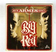 CD SINGLE PROMO (NEUF) BIG RED AUX ARMES ETC (SERGE GAINSBOURG)