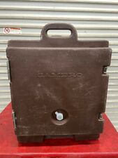 Insulated Full Steam Pan Carrier Transport Holding Cambro 300mpc Catering 4993