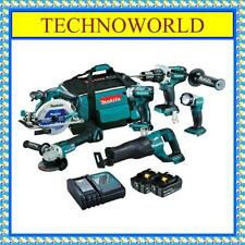 MAKITA DLX6063T 18V BRUSHLESS 6PC COMBO KIT◉POWER TOOL SET◉CHEAP◉RELIABLE◉STRONG