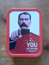 YOU ARE THE MAN I WANT Collector tobacco Tin Retro Storage container New