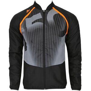 Adidas F50 Men's Track Jacket Football Sports Windbreaker Running Black