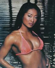 LOT OF 5 DIFFERENT GAIL KIM WWE GLOSSY 8X10 WRESTLING PHOTO