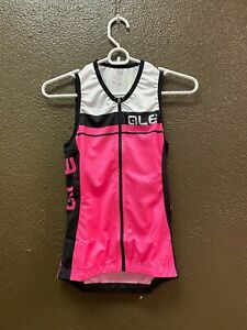 Alé Cycling Sleeveless Jersey with zipper - Women's XS