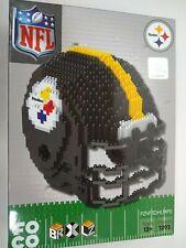 Pittsburgh Steelers  Helmet NFL 3D BRXLZ Construction Toy Blocks Set