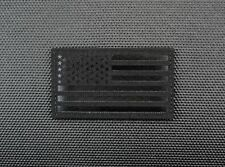 Infrared Blackout IR US Reverse Flag Patch SWAT Tactical Police Gang Enforcement