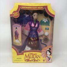 Vintage Disney Matchmaker Magic Mulan Doll 1997 Mattel New in box