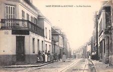 France  CPA 76 -  SAINT ETIENNE du ROUVRAY,  La Rue Gambetta
