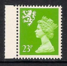 Scotland 1989 S68 23p Brt Green litho 2 bands booklet stamp MNH Cat. £14