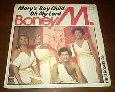 """Boney M. 45 Giri """" MARY'S BOY CHILD/OH MY LORD-DANCING IN THE STREETS """" Durium"""