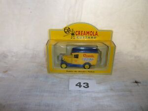 Lledo Days Gone Diecast Model LP#21123 Creamola Custard 1928 Chevrolet Van