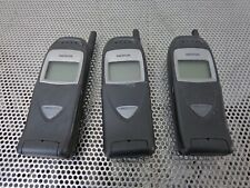Lot Of 3 nokia 6161i Nsw-3Bd Flip Cell phone Untested/Asis