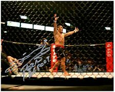ANTONIO SILVA Signed Autographed UFC MMA 8X10 PIC. E