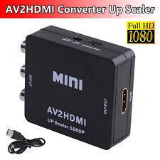 Eingang RCA AV zu HDMI Ausgang AV Konverter Adapter Composite AV2HDMI 1080P Mini