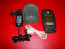 Symbol Spt1800-Trg80400 Barcode Scanner Stylus Charging Cradle & Ac Adapter Pics