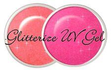 Sheba Nails Glitterize UV Gel - Passion Peach
