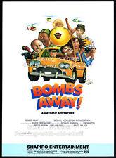 BOMBS AWAY__Original 1985 Trade print AD / poster__movie promo__PAT McCORMICK