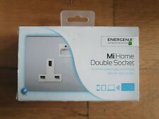 Energenie MiHome Style - Double Socket - Chrome MIHO022