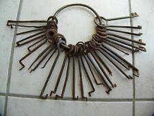 Trousseau de clés ancien,serrure serrurier verrou porte cadenas