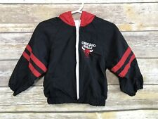 c15842e5efc8a8 NBA Vtg Little Boys Toddler Chicago Bulls Hooded Jacket 24 Months 2T