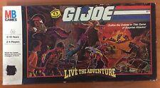 Vintage 1986 Board Game - G.I. Joe Live The Adventure - 100%Complete
