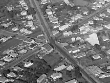 Photo. 1940s. Auckland City, New Zealand. Sky View of Royal Oak & Manukau Rd