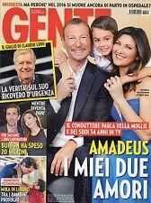 Gente 2016 2.Amadeus-Giovanna,Laura Pausini,Sophia Loren,Mika,Mel Gibson,Buffon