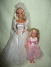 Barbie dolls Wedding Family Bundle with Mother and Daughter Stacie