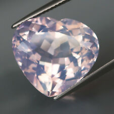 12.57Ct.Rare! Natural BIG Purple Pearl Amethyst (Look Like Opal) HEART Lovely!