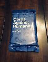 Cards Against Humanity - Jew Pack - Expansion Set New Great Stocking Stuffer