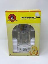 TWEETY ANNIVERSARY CLOCK Porcelain Base Westclox