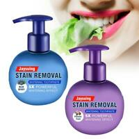 Natural Intensive Stain Remover Whitening Toothpaste high quanlity Mode