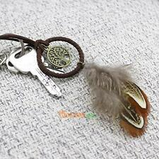 Handcrafted Dream Catcher Feather Tree Keychain Bag Pendant Accessories Gift Toy