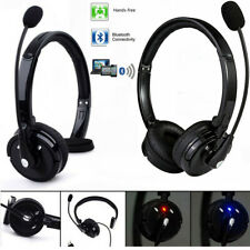 Over The Head Boom Mic Bluetooth Noise-Canceling Headset For Trucker Drivers Us