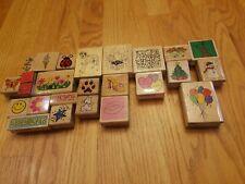 25 Rubber Stamps Crafts Scrapbooking Teacher School