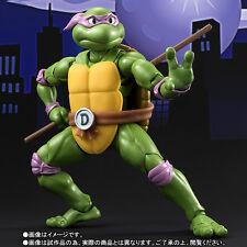 DONATELLO TEENAGE MUTANT NINJA TURTLES Tartarughe Ninja S.H.Figuarts Bandai 15Cm