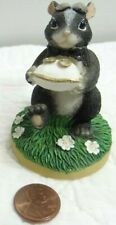 Charming Tails The Ring Bearer Skunk Figurine 82/104 Ring Pillow Wedding