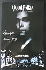 HENRY HILL Signed 17x11 Poster GOODFELLAS MOBSTER COA