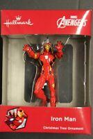 New! 2015 Hallmark Marvel Avengers IRON MAN Christmas Ornament Red Box