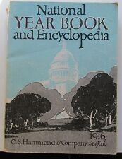 NATIONAL YEAR BOOK AND ENCYCLOPEDIA  1916