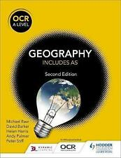 OCR A Level Geography Second Edition by David Barker, Helen Harris, Peter Stiff, Andy Palmer, Michael Raw (Paperback, 2016)