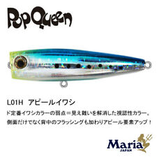 1 x Maria Pop Queen F80-L01H Popper Topwater Fishing Lure 80mm 16g