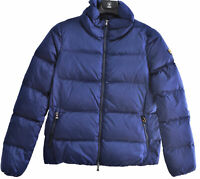 Giacca Giubbotto Piumino Ciesse Piumini Donna Blu Real Down Jacket Woman Blue