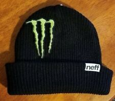 Monster Energy Beanie Athlete Only Dew Tour Winter Sponsor X Games Neff Hat Ski