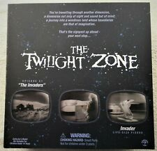 "THE TWILIGHT ZONE ""INVADER""  Limited Edition Collector Figure"