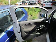 Fahrertür Tür links Opel Corsa D Bj 2007 Z474 Casablancaweiss