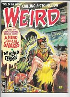 Weird Magazine Vol 7 #5 August 1973 Eerie Pub. Creepy FN Heavy Metal Horror Art