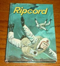 Ripcord hardcover book, 1962 Whitman TV Larry Pennell, Ken Curtis, Skydiving