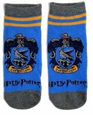 LADIES HARRY POTTER RAVENCLAW SHOE LINERS SOCKS ONE SIZE