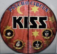 Kiss Psycho Circus Pic LP Picture Disc Vinyl Record Rare