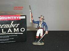 King and Country rta50 ALAMO COLONNELLO Travis Combattimento in Metallo Giocattolo Soldato Figura